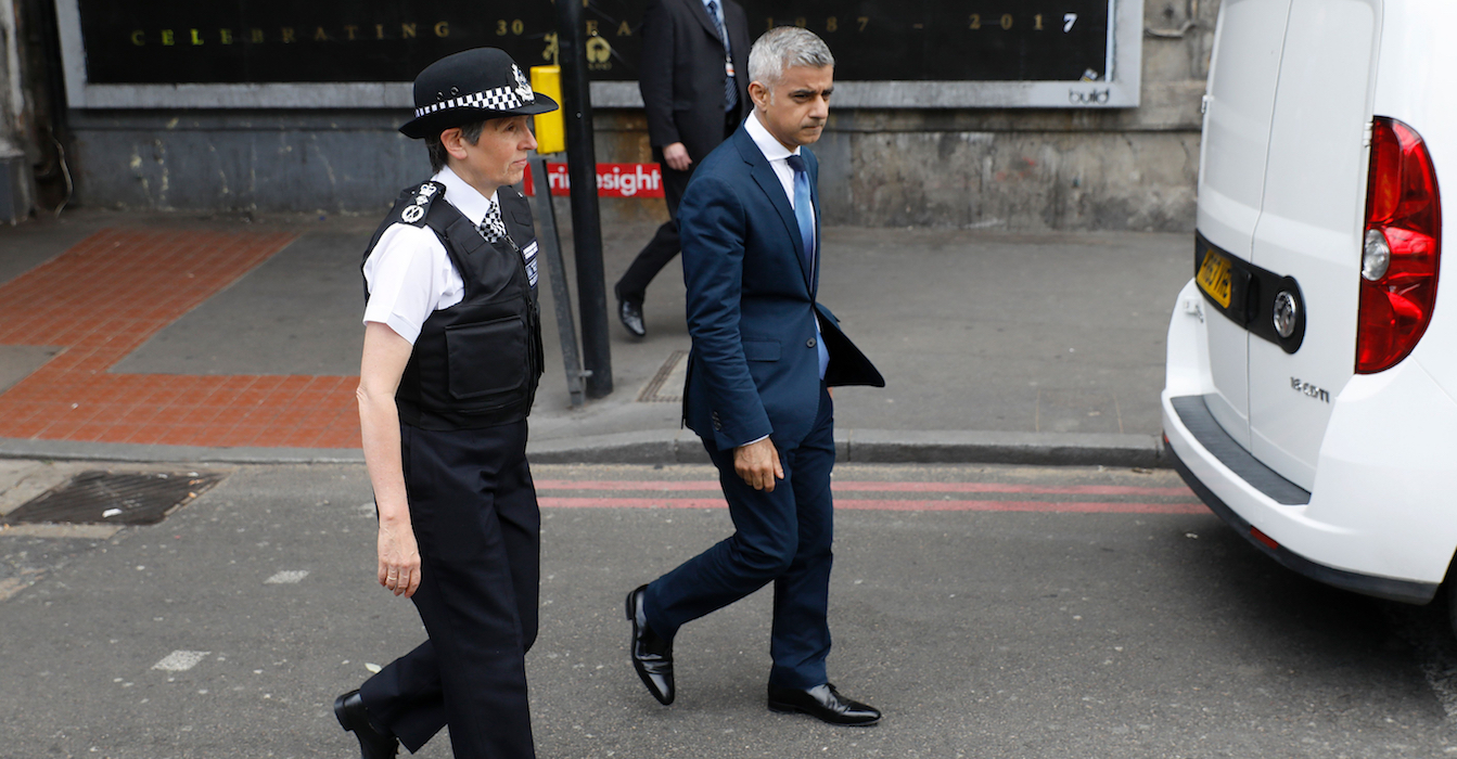 London mayor on Trump tweets: 'I really don't care'