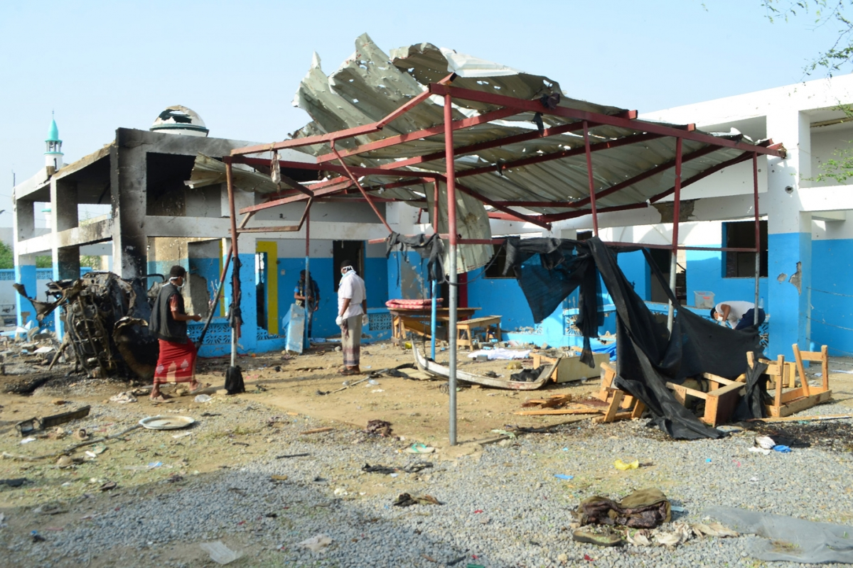 The Death Toll in Yemen Is So High the Red Cross Has Started Donating Morgues to Hospitals