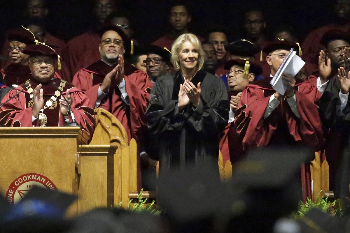 Bethune-Cookman Had A Reason To Invite Betsy DeVos To Give That Calamatous Commencement Speech