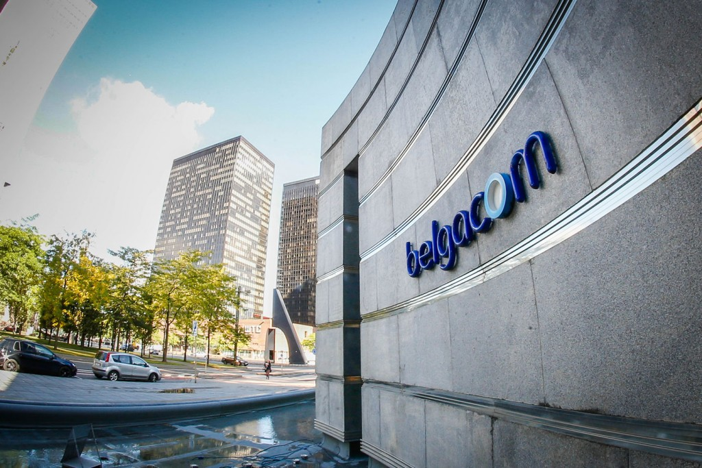 A photo taken on September 16, 2013 shows the headquarters of Belgium telephone operator Belgacom in Brussels. Belgacom announced on September 16 that its computer systems were hacked and that it had filed on July 19 a complaint with police about the hacking. According to reports in the Belgian newspaper De Standaard reports, Belgacom was allegedly hacked by the American security service NSA, intercepting conversations in Africa and the Middle East.                                               AFP PHOTO / BELGA /  BRUNO FAHY                  - BELGIUM OUT -        (Photo credit should read BRUNO FAHY/AFP/Getty Images)