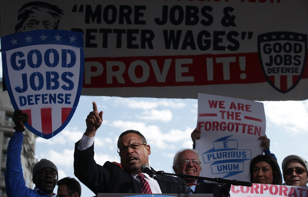 Democratic Party Drama Puts Deputy Chair Keith Ellison In A Tough Spot