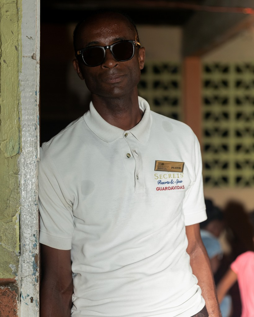 Flyod Foster, photographed at his job at youth center Mandingo Youth Center which he runs to keep kids away from violence and lotto scamming in Jamaica on May 17, 2018.