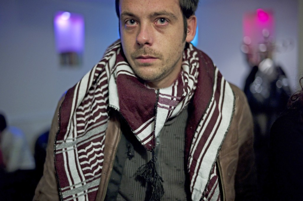 Undated  photo of French photographer Remi Ochlik who died Wednesday Feb. 22, 2012  in Homs, Syria.  French photojournalist Remi Ochlik  and an American journalist Marie Colvin working for a British newspaper were killed Wednesday by Syrian government shelling of the opposition stronghold of Homs, France's government said.(AP Photo/Julien de Rosa)